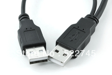 MINI USB 5PIN Y cable Data to USB 2 0 2 Two dual A Type Male