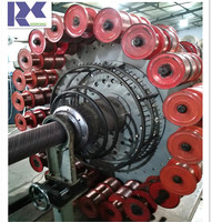 xinrong high pressure steel wire composite pipe extrusion line