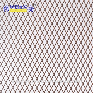 Stainless Steel Copper Aluminium Expanded Metal Grill Wire Mesh