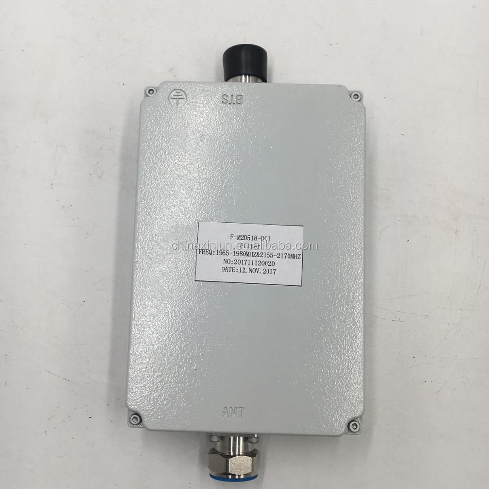 IP65 BTS 2100MHz Filter 1965-1980/2155-2170MHz WCDMA Filter with 7/16 DIN-K Connectors