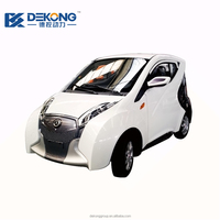 Best and new 50km/h 4 wheel small electric car 4 seater