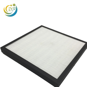 Air purifier hepa filter paper replacement operating room cleaner