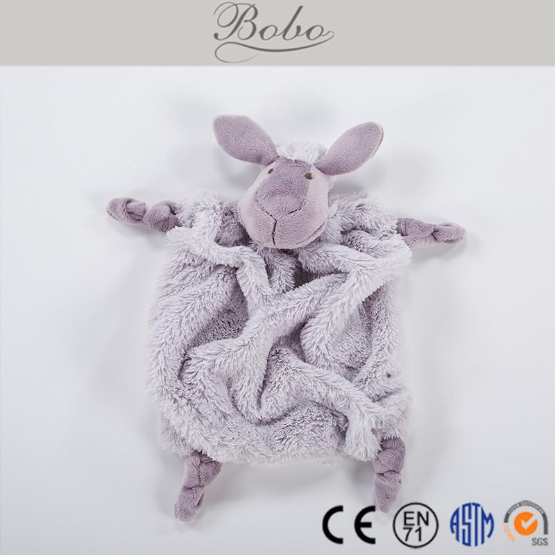 De Peluche De Conejo Juguetes De Bebé Suave Cabeza De Animal Edredón ...