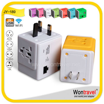 Unique Design Adaptor Plug For 2 Pin Europe/euro Electric Plugs To ...