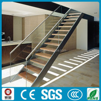 Indoor straight wooden stairs made in China ---YUDI