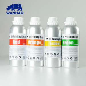 New Wanhao Water Washable Resin For Wanhao D7 Printer