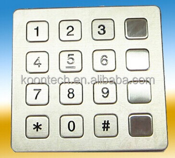 Matrix Keypad 4x4 For Communications - Buy Matrix Keypad 4x4 For  Communications,Matrix Keypad,Keypad 4x4 Product on Alibaba com