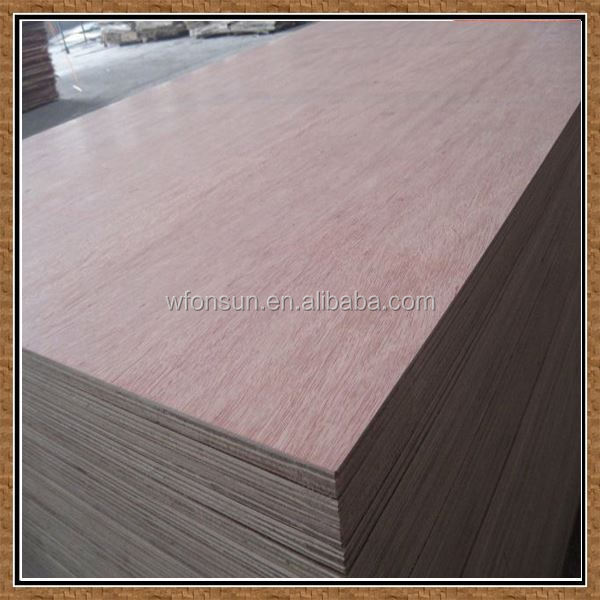 wholesale top quality no need fumigation wood pallet with plywood board in sale