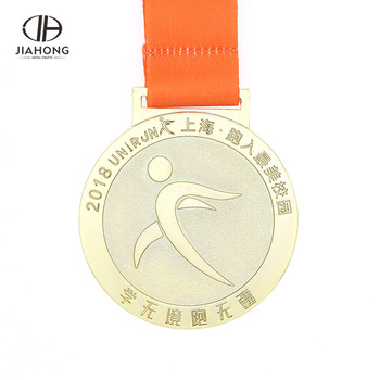 Europe sport awards dance medals and trophies medal with stand metal