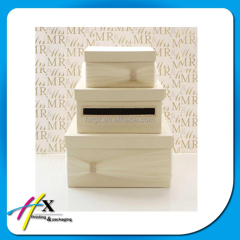 Gift Box Wedding Invitations: High End Gift Box For Wedding Invitation Card Box