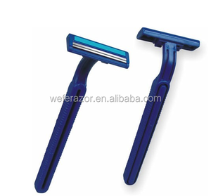 Disposable Razor Factory produce twin blade higher quality shaving
