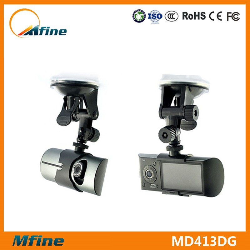 X3000 Dual lens Google GPS Digital Car Black Box,dual lens car dvr