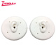 Custom medical white demo silicone ear display human silicone rubber ear model