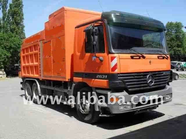 Suction Excavator on car 2641 Mercedes Actros 4200 6x4