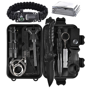 Gear multi tools outdoor first aid emergency survival kit with multi professional tools for traveling, hiking, camping