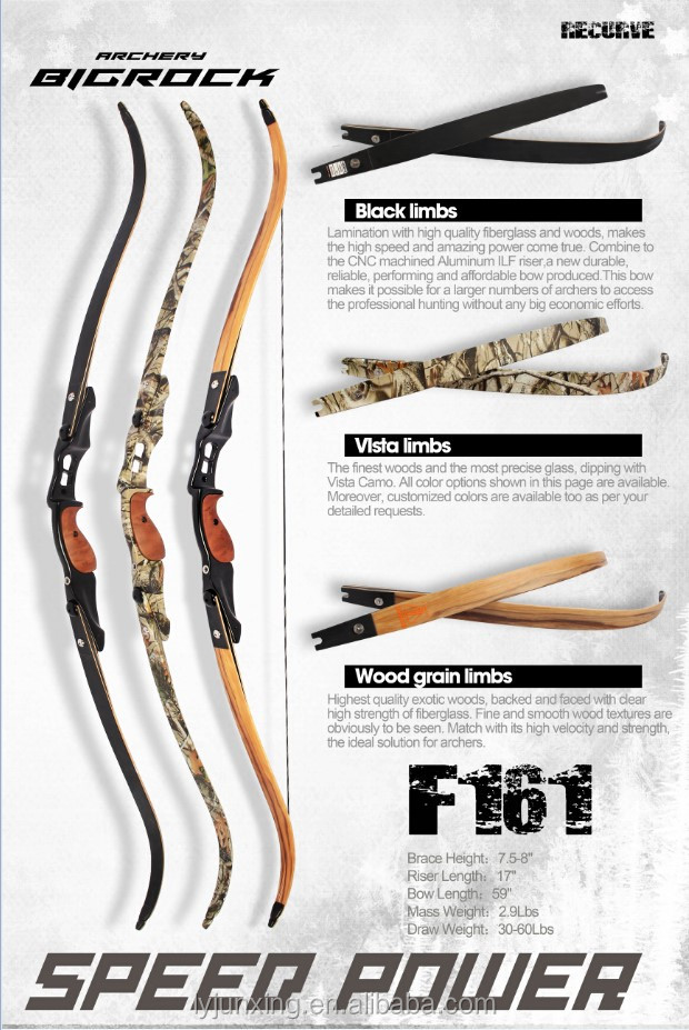 Ilf F161 Hunting Traditional Recurve Bow For Sale,Cnc Machined - Buy  Recurve Bow,Hunting Gear,Hunting And Shooting Product on Alibaba com