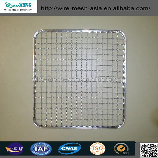 stainless steel barbecue bbq grill wire mesh net with perfect quality & competitive price