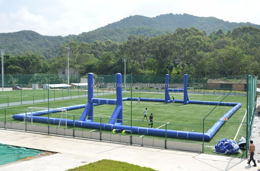 Cn Factory Cheap Custom Inflatable Rugby Football Pitch