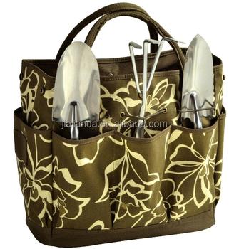 Picnic Gardening 3 Tools Tote Bag 4 Piece Set JLD 14000119