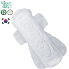 Superior feminine hygiene organic cotton lady sanitary napkin customize sanitary pad packaging Supply to Korea