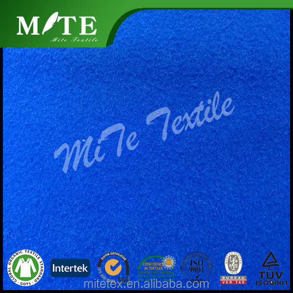 100% polyester dyeing polar fleece 2 sides brush
