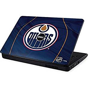 NHL Edmonton Oilers Inspiron 15 & 1545 Skin - Edmonton Oilers Home Jersey Vinyl Decal Skin For Your Inspiron 15 & 1545