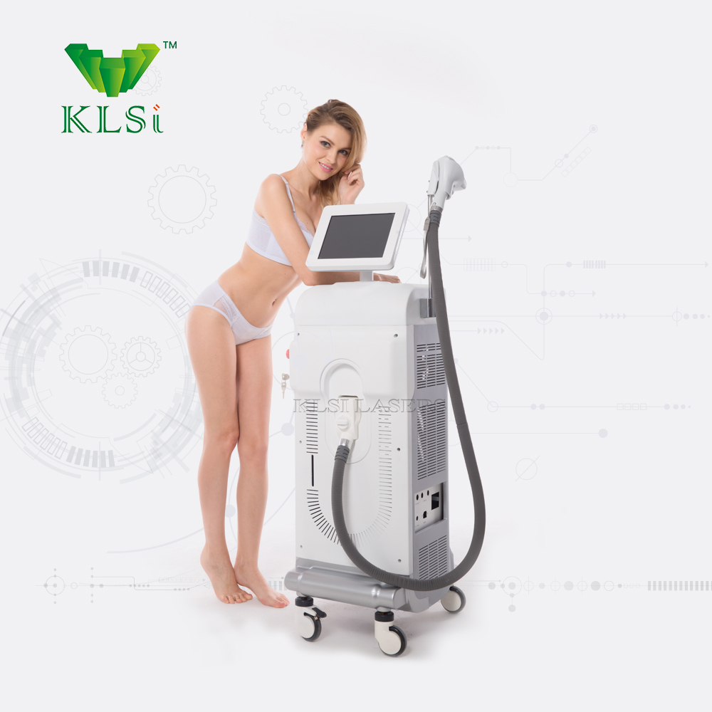 KLSi Turkey Fairs 808nm diode laser / beauty expo hair removal machine