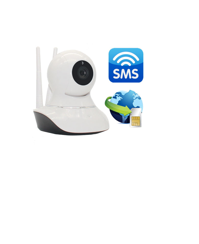 Hot New products for 2016 ! GSM+WIFI alarm system with IP camera
