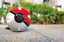 Latest design Pokemon Go PokeBall Power Bank 10000mA