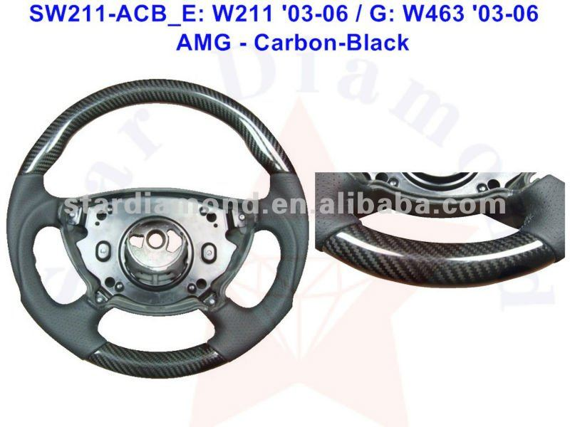 Wholesale For W211 '03-06 Carbon Fiber Racing Steering Wheel