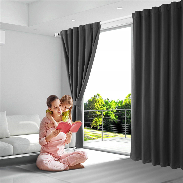 Wholesale Room Darkening Thermal Insulated Blackout Grommet Window <strong>Curtain</strong> <strong>for</strong> Living Room