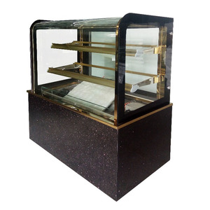 Glass Cake Display Refridgerated Showcase Cabinet
