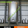 Stainless Steel Vertical Palm Oil Storage Tank