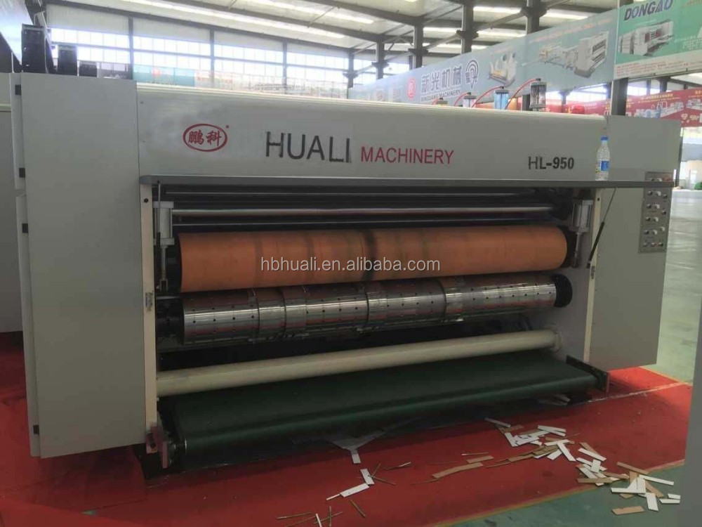 HUALI BEST DISCOUNT Automatic Corrugated Carton Pizza Box Printing slotting die cutting Machine in China