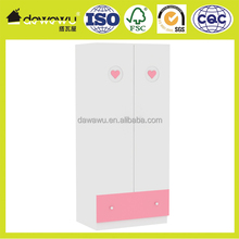high gloss double color wardrobe design furniture bedroom for baby room