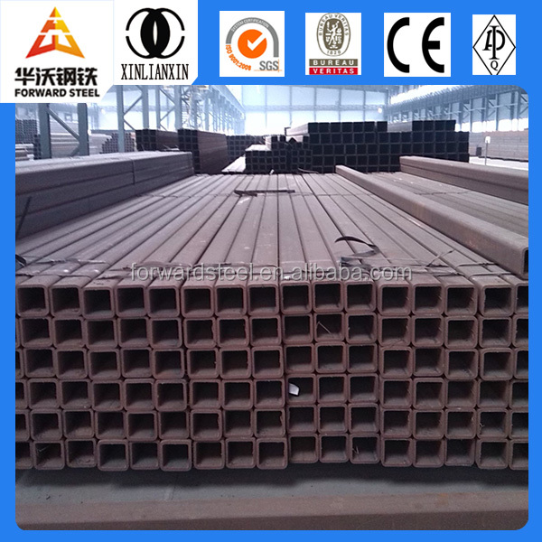 ERW tube steel pipes building material factory Q195 Q235 Q345 copper tube rectangular