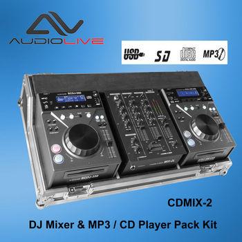 Professional Dj Set: 2 X Scdj-350usb Mp3 Cd Player + Sdmx-2 Dj Mixer - Buy  Digital Dj Audio Mixer Player,Usb Dj Player Mixer Set,High Quality Digital