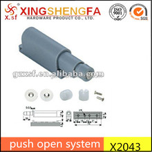 push open system X2043 Push To Open System Cabinet Damper Buffer For sliding door
