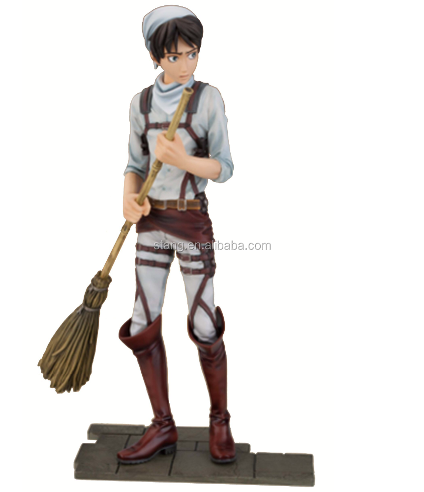 Attack on Titan 6.5-lnch Eren Yeager DXF Figure,Cleaning Version