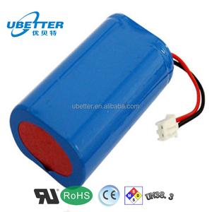 BIS UL IEC62133 UN38.3 approved 18650 battery pack for electric bike flash light / 18650 li ion battery 7.4V3600mAh