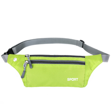 Wholesale light weight waterproof sporting running waist phone cash multifunction bag for unisex