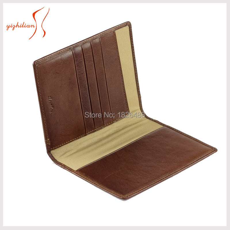 5bb629fd5 Get Quotations · Men s Travel Passport Holder Wallet with Credit Cards and  Cash Slots in Italy Vegetable Tanned Leather