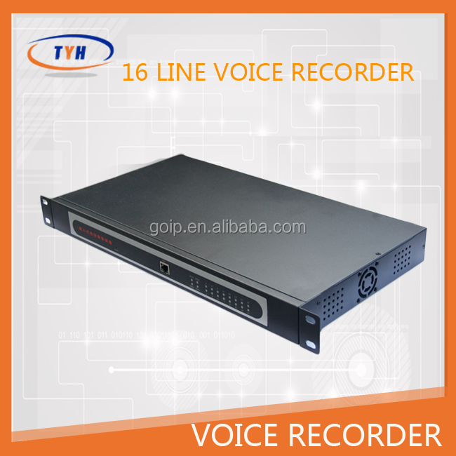 16 lines phone voice recording boxinvisible voice recorder