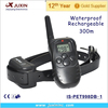 300m Remote Control Bark Stop LCD 100LV Shock & Vibra Remote Dog Training Collar