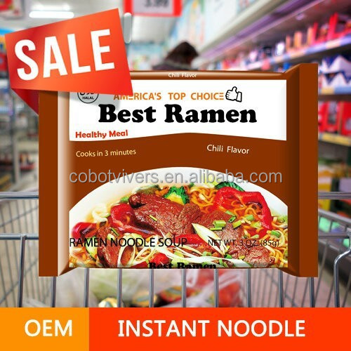 Private Label White Curry Quick Cooking Noodle And Instant Ramen bag isntant ramen