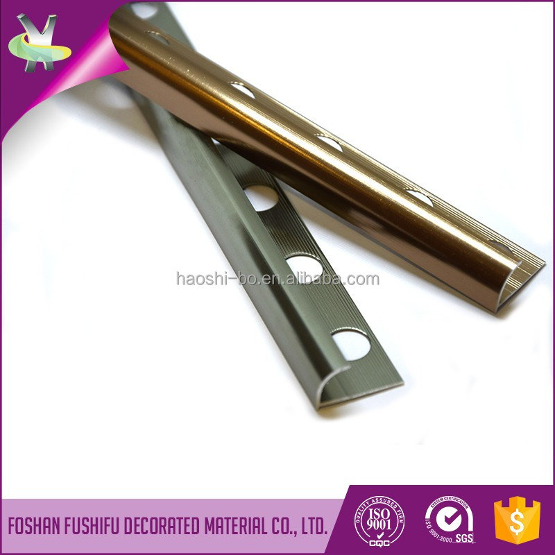 Market demand increase rapidly products anodized aluminum bathroom ceramic tiles edge protective trim strip