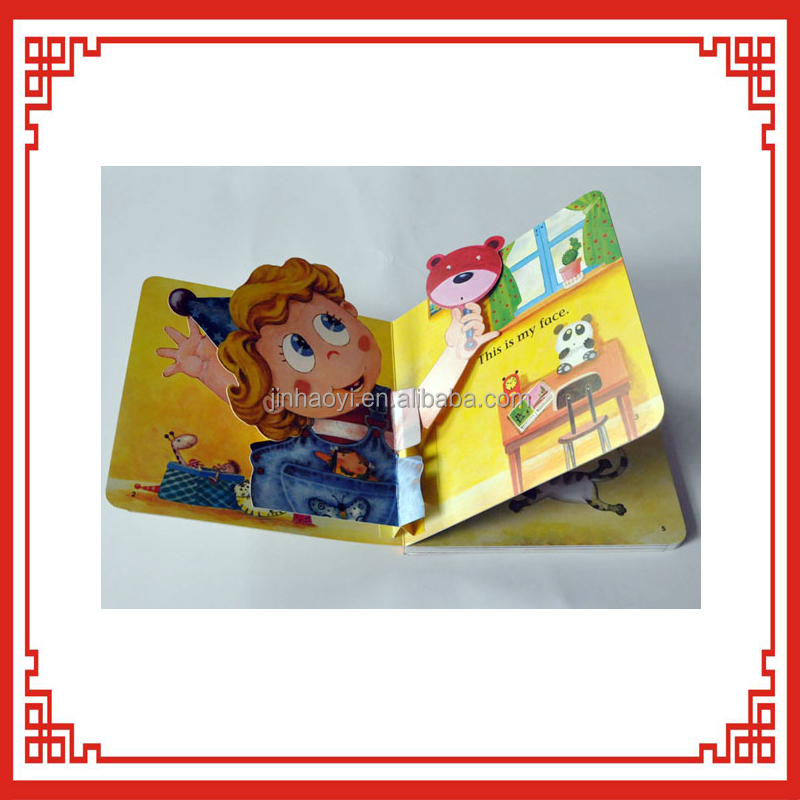 OEM high quality whole sale story book children 3d picture books printing