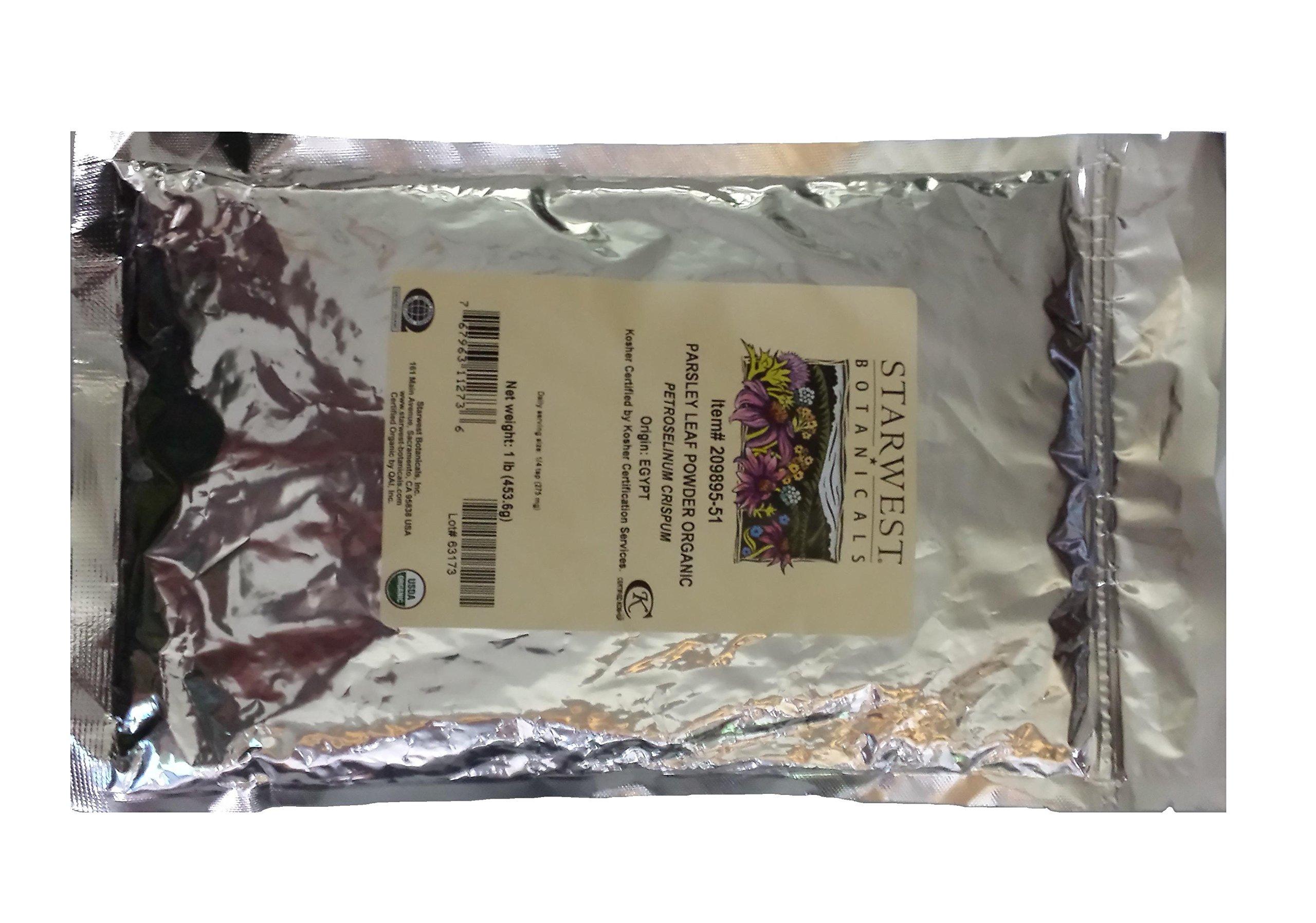 Organic Parsley Leaf Powder 1 lb (453 g)