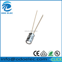 100PCS 50V 1UF 1MF aluminium electrolytic capacitor for sale !