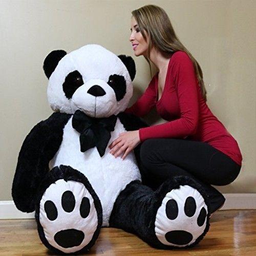 Extra Large Stuffed Animal Life Size Panda Teddy Bear Huge Big Giant